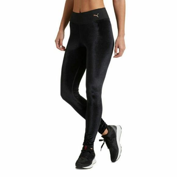 f849f048fa861b Puma Pants   Velvet Full Length Running Leggings Size L   Poshmark